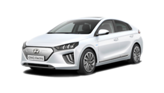 Cutout image of the Hyundai IONIQ Electric.