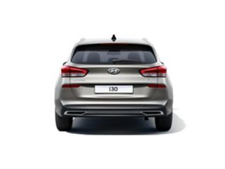 The new Hyundai i30 Wagon pictured from the rear.